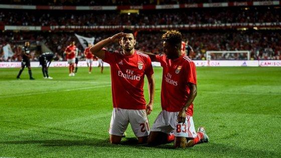 Pizzi voltou a ser o comandante do Benfica, que teve também o miúdo Gedson Fernandes em destaque