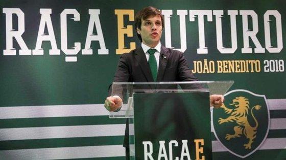 João Benedito resolveu uma pequena questão formal nas listas e foi aprovado como candidato às eleições do Sporting
