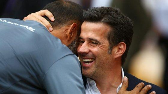 Nuno Espírito Santo e Marco Silva: dois treinadores portugueses num dos melhores encontros da abertura da Premier League