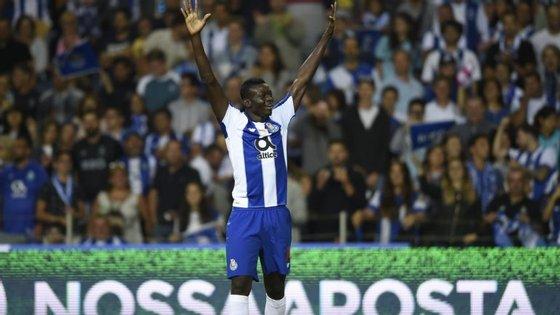 Marius acabou por ser a grande surpresa no início triunfal do FC Porto no Campeonato frente ao Desp. Chaves