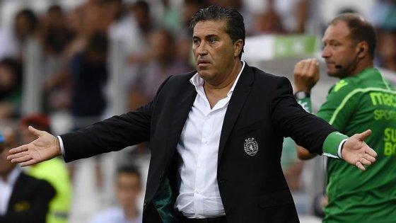 José Peseiro destacou talento de Matheus Pereira mas deixou recados em relação ao que se passa durante a semana