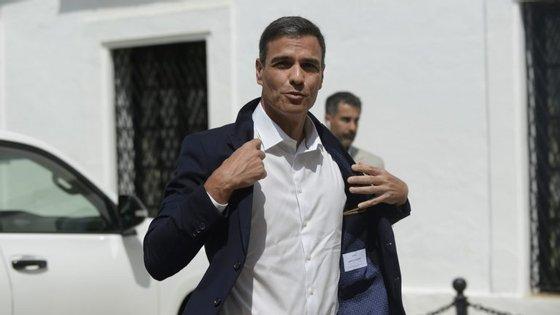 Pedro Sánchez subiu ao poder há 10 semanas, após vingar uma moção de censura que derrubou Mariano Rajoy