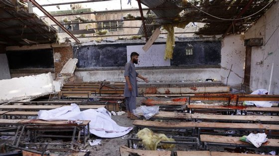 A maioria dos atentados no Afeganistão, que visam muitas vezes as comunidades xiitas, são cometidos pelos talibãs