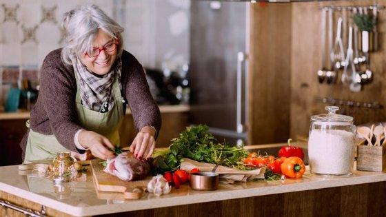 A mãe de Salvador e Luísa Sobral é apaixonada pela cozinha.