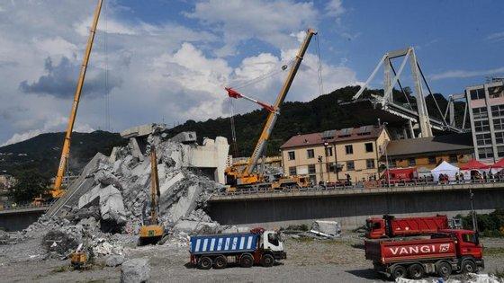 O executivo italiano exigiu a demissão da direção da empresa Autostrade per l'Italia, responsável pela gestão da ponte Morandi