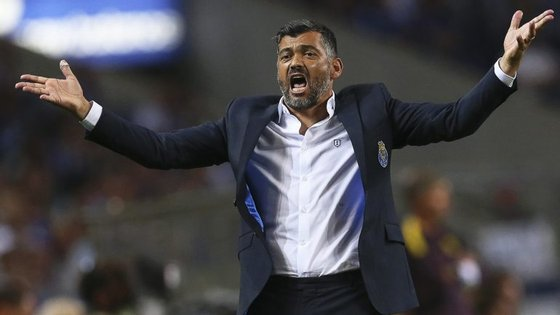 Sérgio Conceição admitiu desconhecer se a reintegração do melhor marcador da equipa na época passada será benéfica