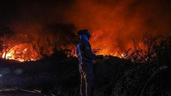No distrito de Viana do Castelo estão em fase de conclusão mais dois incêndios em mato