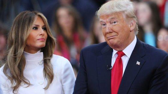 Estão não é a primeira vez que os discursos de Melania e Donald Trump são incoerentes