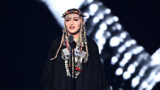 """Madonna regressou aos 18 anos para lembrar Aretha Franklin: """"Ela levou-me até onde estou hoje"""