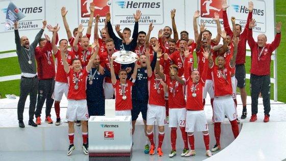 O Bayern Munique venceu as últimas seis edições da Bundesliga