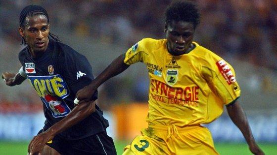 Shiva foi apontado ao V. Setúbal em 2005, mas permaneceu no futebol francês