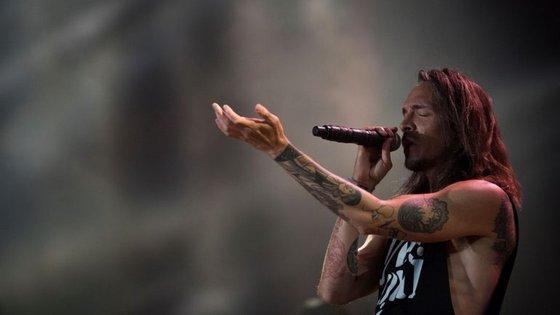 Os Incubus, banda liderada pelo vocalista Brandon Boyd, não tocavam em Portugal há seis