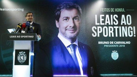Apesar de ter visto as suas listas para as próximas eleições recusadas, Bruno de Carvalho continua a fazer sessões de esclarecimento