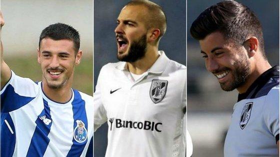 André Pereira, André André e Tozé: os três jogadores da formação portista foram decisivos este sábado