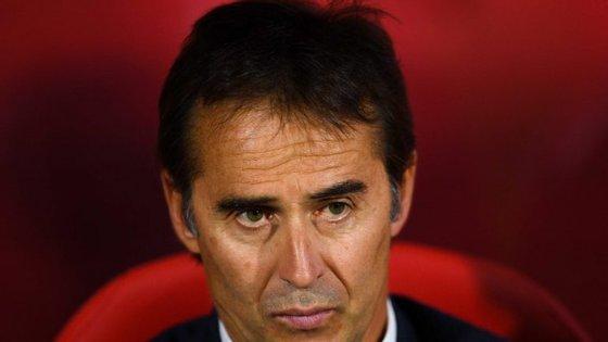 Lopetegui realizou em Girona o segundo jogo da Liga Espanhola no banco do Real (Créditos: Getty Images)