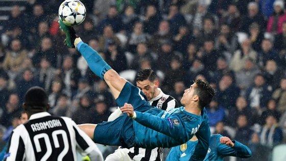 Ronaldo marcou ao serviço do Real Madrid contra aquela que é agora a sua equipa, a Juventus