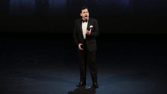 O português Luís Gomes em palco