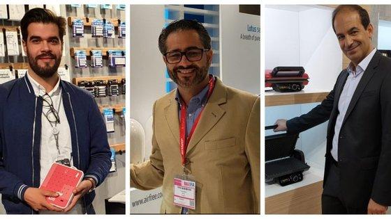 Tiago Venda Morgado, fundador da Egg Eletronics, a AirFree e a Flama estão na IFA a mostrar os produtos das suas empresas