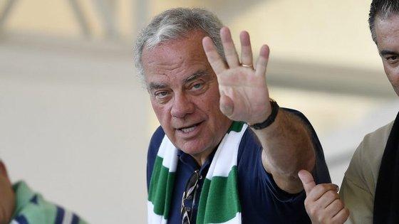 A uma semana das eleições, José Maria Ricciardi está em terceiro lugar nas sondagens, atrás de Benedito e Varandas