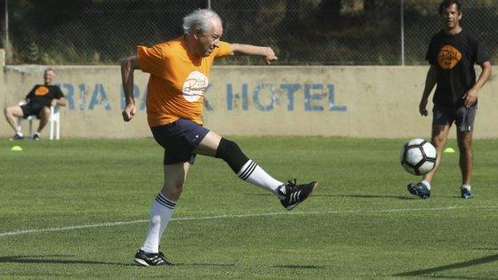 Um dos hobbies de Rui Rio é praticar desporto