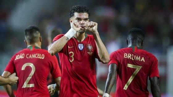 Pepe leva 100 jogos e sete golos apontados ao serviço da Seleção Nacional