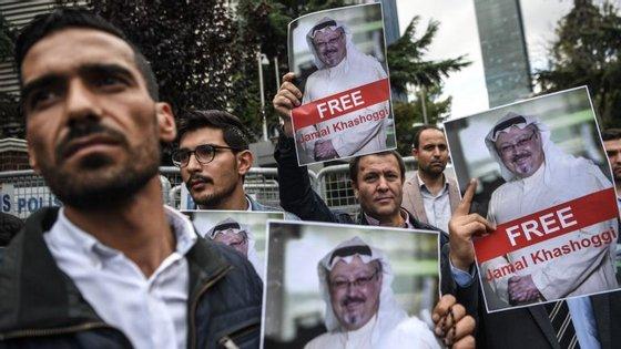 """O mundo árabe está a enfrentar """"a sua própria versão de cortina de ferro"""", escrevia o jornalista saudita um dia antes de desaparecer"""