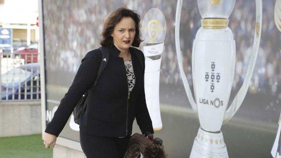 Andreia Couto desempenhava funções na Liga Portuguesa de Futebol Profissional desde 2002