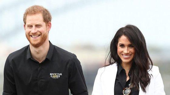 Príncipe Harry, duque de Sussex, e Meghan Markle, duquesa de Sussex