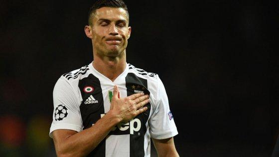 O avançado português deixou o Real Madrid em julho e mudou-se para a Juventus