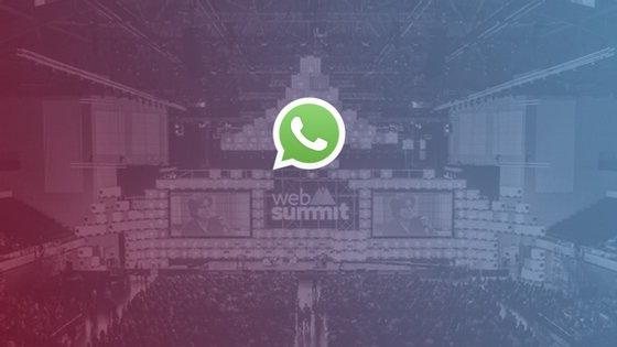 Não quer perder nada do que está a acontecer? Receba através do WhatsApp as newsletters especiais do Observador durante a Web Summit