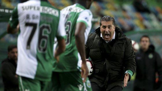 José Peseiro sofreu a segunda derrota em casa na presente temporada e viu contas da Taça da Liga ficarem mais complicadas