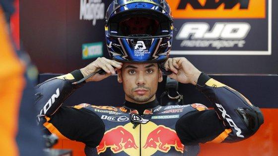Depois do segundo lugar em 2015 no Mundial de Moto3, Miguel Oliveira volta a ser vice-campeão mundial