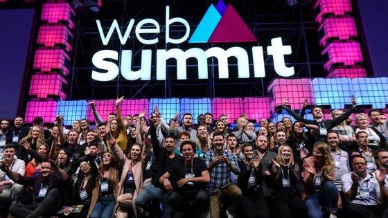 A Web Summit vai decorrer de 5 a 8 de novembro na FIL e no Altice Arena, no Parque das Nações, em Lisboa