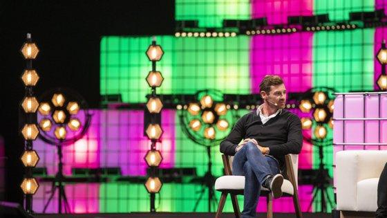 André Villas-Boas falou de manhã no Sports Trade e foi à tarde ao Central Stage, palco nobre do Web Summit