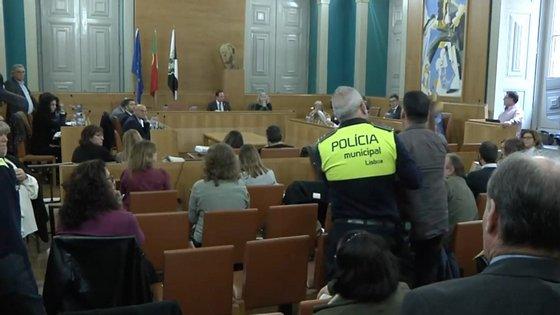 O munícipe pediu a palavra fora do período de intervenção pública