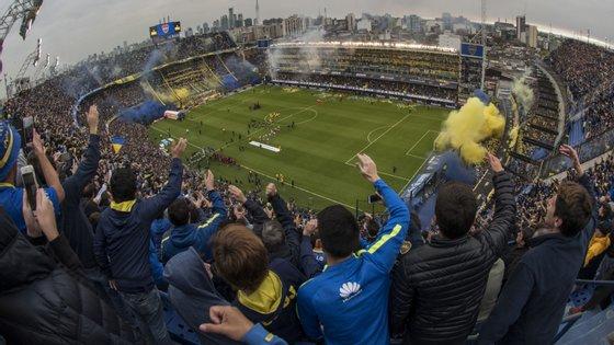 Bombonera recebe este sábado primeira mão da final da Libertadores e, por razões de segurança, só haverá adeptos do Boca