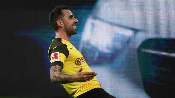 Paco Alcácer marcou o 3-2 final que fechou a reviravolta e confirmou a média de um golo por cada 30 minutos na Bundesliga