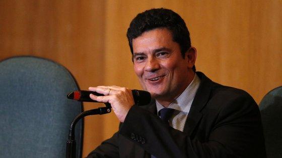 Sergio Moro tornou-se famoso após ordenar a prisão do ex-Presidente Luiz Inácio Lula da Silva
