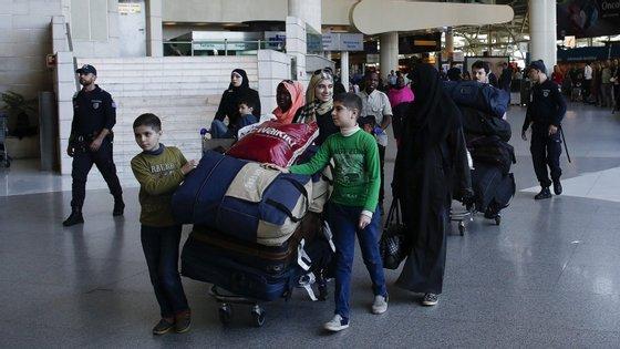 Entre dezembro de 2015 e março deste ano, Portugal acolheu 1.552 refugiados