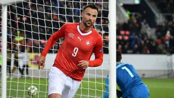 Esta foi a primeira vez que Seferovic assinou um hat trick ao serviço da seleção suíça