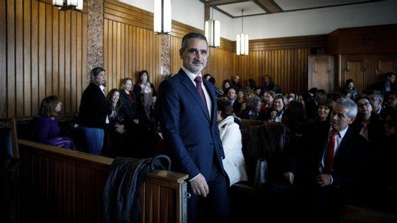 O presidente da Associação Sindical de Juízes Manuel Ramos Soares