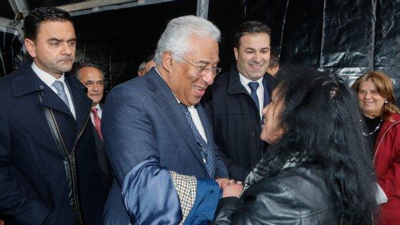 António Costa esteve esta terça-feira na assinatura do contrato da empreitada de construção do troço final da autoestrada A25, entre Vilar Formoso e a fronteira com Espanha