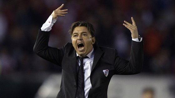 Marcelo Gallardo agarrou numa equipa ainda marcada pela traumática descida em 2011 e ganhou oito títulos desde junho de 2014