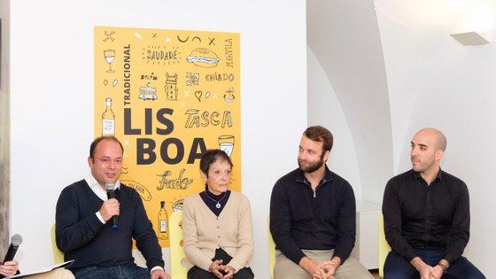 Os líderes de comunidades do Facebook focadas em Lisboa, como o João Guerreiro, Helena Aguiar, André Rodrigues e Jaime Santos