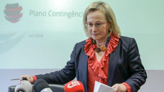 A diretora-geral de Saúde, Graça Freitas