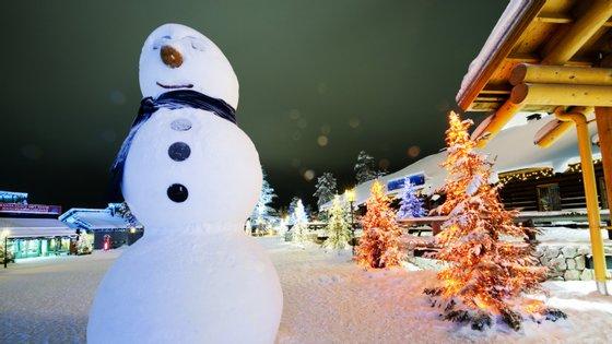 Vila Natal em Rovaniemi, na região da Lapónia