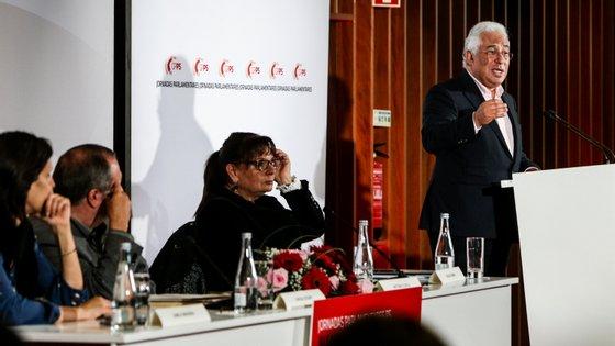 António Costa abriu as Jornadas Parlamentares do PS em Portimão