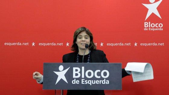 A líder do Bloco de Esquerda, Catarina Martins, deixou críticas à liderança atual da UE