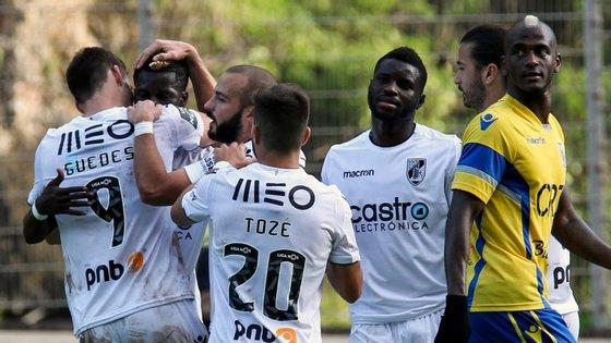 Alexandre Guedes marcou o segundo e último golo do Vitória de Guimarães