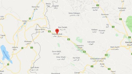 Zona de Sarpol-e Zahav, perto do Iraque, foi afetada por outro sismo no ano passado
